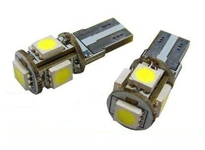 2-xenon-hid-look-5-smd-led-side-light-pure-white-bulb-t10-w5w-501-error-free-for-interior-exterior-n