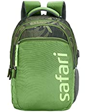 SAFARI 28.5 Ltrs Green Casual Backpack (CAMP19CBGRN)