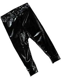 Filles Pantalon Crayon,Sensail Bébé Enfant Mode Jambières de pleine  longueur Faux cuir Pantalons Dorure 2af0f546ab8a