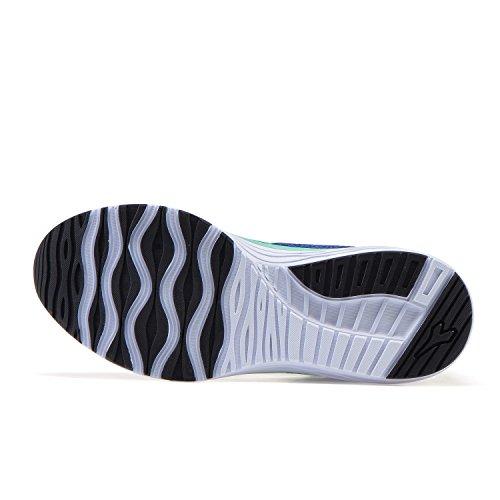 Diadora Flamingo W, Chaussures De Course À Pied Bleues Pour Femmes