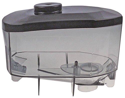 QualityEspresso-Futurmat Kaffeebohnenbehälter für Kaffeemühle mit Deckel Höhe 180mm Aufnahme ø 51mm Breite 190mm Länge 280mm