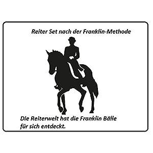 Reiter Set nach der Franklin-Methode – Bälle Set- Die Reiterwelt hat die Franklin Bälle für sich entdeckt.