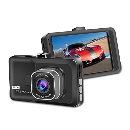 VR Kamera Full HD1080P Video Registrator Parkplatz Recorder G-sensor Dash Cam HD DVR Kamera 080p Video Registrator Parkplatz Recorder G-Sensor mit automatischer Loop-Aufnahme (Dvr Dash Cam Video Recorder)
