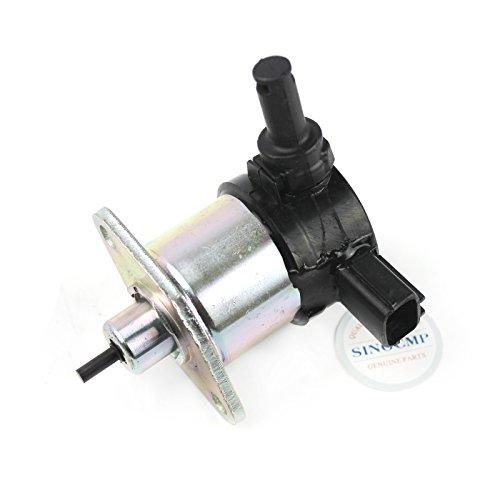 17208-6001017208-6001512V Stop Solenoid-sinocmp cp-u0315Fuel Shut Off Ventil für Kubota D905D1005D1105V1205V1305V1505Kraftstoff Magnetventil, 3Monate Garantie - Kubota Diesel Motor