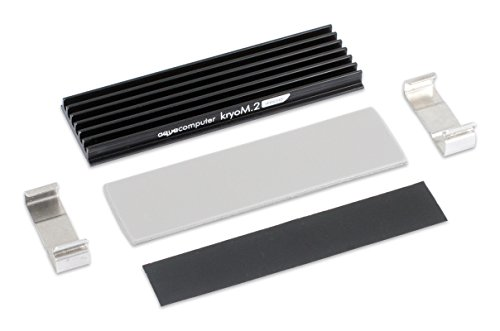 Aqua Computer kryoM.2 micro Passivkühler für M.2 2280 SSD