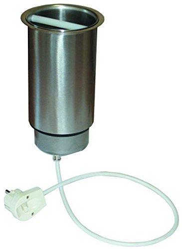 Messerabstreifer Abstreifbehälter elektrisch, Abstreicher mit Steg, Thekeneinbau