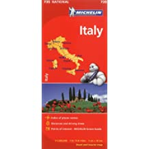 Michelin Italy Map 735