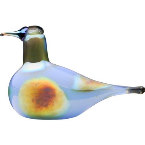 Courlis ciel-iittala Toikka en verre avec décoration oiseau