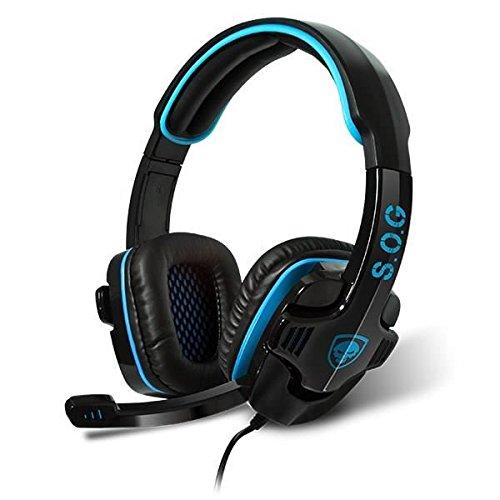 Xbox 360-webcam (Advance XPERT-H2 Multiplattform Gaming Kopfhörer für PC/PS3/PS4/XBOX 360 schwarz)