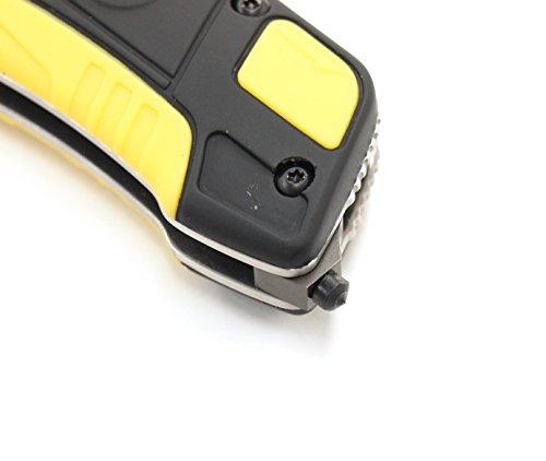 Walther Messer Pro Rescue Knife schwarz/gelb, 5.2012 - 2