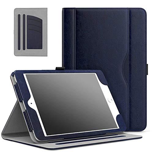 custodia tablet apple MoKo Case per Apple iPad Mini 3/2 / 1 - Custodia Pieghevole (con Funzione di Auto Sveglia/Sonno) di Stand Supporto Multi-angli con Tasca per Le Schede per iPad Mini 1 / Mini 2 / Mini 3
