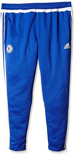 adidas Herren Hose FC Chelsea Training, Blue/White, S