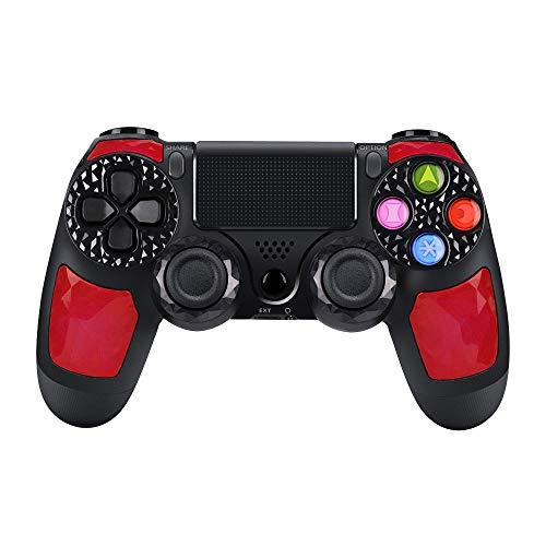Controller PS4 wireless di alta qualità con DoubleShock 4 e batteria agli ioni di litio con 1000 mAh di capacità per PlayStation 4. Compatibile con PlayStation 4/Slim/Pro, Windows e PSTV/SMART TV.