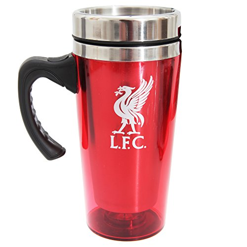 Liverpool F.C. Official Football Team Aluminium Travel Mug Liverpool
