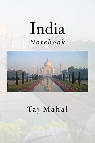 """India: Notebook, 150 Lined Pages, Softcover, 6"""" x 9"""""""