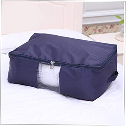 Camellia Oxford Tuch abwaschbar Quilt Tasche Kleine Navy Haushalt täglich Produkte Familie vertraut Artikel des täglichen Gebrauchs (Cyan) (Quilt Tasche)