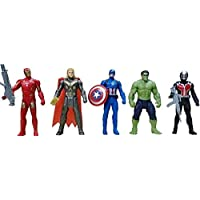 AS Collection Store Super Hero Action Figure New Super Heroes Toys Set - Action Figure Toys Set of 5 (Set - A)