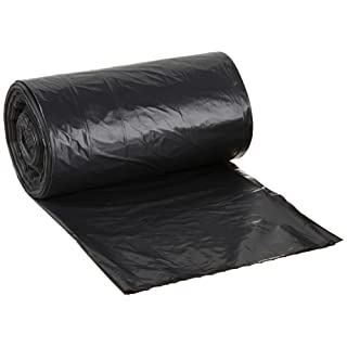Aluf Plastics RL-2423H T-Tough Roll pack Low Density Repro Blend Star Seal Coreless Rolls Bag, 7-10 Gallon Capacity, 23