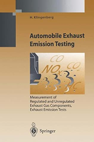 Automobile Exhaust Emission Testing: Measurement of Regulated and Unregulated Exhaust