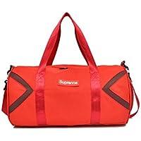 e721b090be794 Godlife Leicht Kreative Leinwand Wasserdichte große Kapazität Sporttasche  Sporttasche Reise Weekender Seesack (rot) für