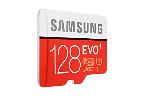 Samsung Evo+ 128GB Class 10 micro SDXC Card (With adapter)