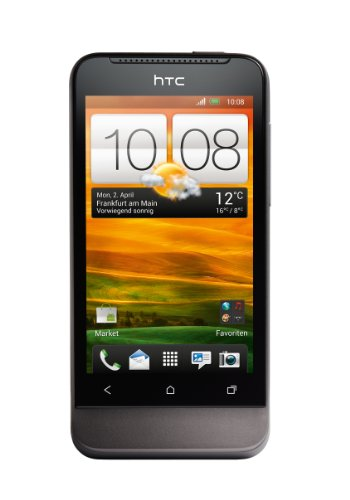 HTC HTC ONE V Smartphone (9,4 cm (3,7 Zoll) Touchscreen, 5 Megapixel Kamera, Android OS) grau