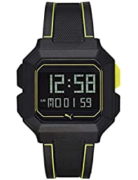 Puma Digital Black Dial Men's Watch-P5024