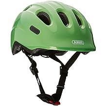 ABUS Smiley 2.0–Casco de niño para bicicleta, todo el año, infantil, color sparkling green, tamaño small