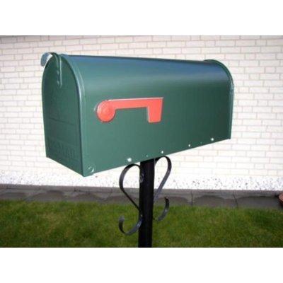 Original U.S. Mailbox – Elite – Stahl Briefkasten grün T1 - 2