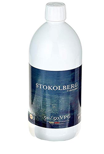 STOKOLBERG Liquid Basen 65/35 Base 1000ml ohne Nikotin-shot - in Deutschland nach ISO 9001 Standards hergestellt (65/35 Base, 0) -