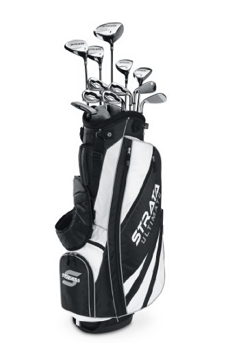 Callaway Herren Strata Ultimate Golf Komplett Set (18), Herren, Regular Flex