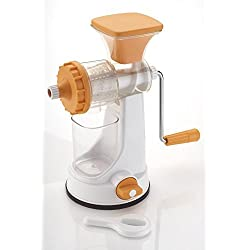 Ganesh Plastic Fruit and Vegetable Juicer, Orange