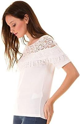 Camiseta ibicenca crochet hombros de Vila Clothes
