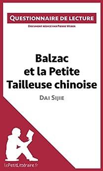 Descargar Elitetorrent Español Balzac et la Petite Tailleuse chinoise de Dai Sijie: Questionnaire de lecture Fariña Epub