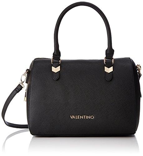 Valentino by Mario Valentino Damen Winter Lily Business Tasche, Schwarz (Nero), 16.0 x 21.0 x 30.0 cm