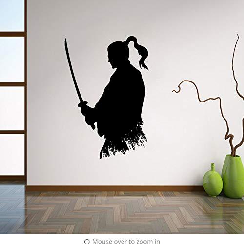 nja Vinyl Aufkleber Japanischen Wohnkultur Ideen Wohnzimmer Interieur Wandkunst Schlafzimmer Wanddekor 56X82 Cm ()