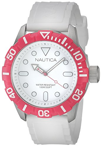 Nautica Unisex Analogue Quartz and Resin Watch, A11603G