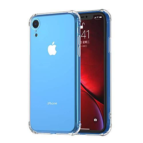 anccer Kompatibel Mit iPhone XR Hülle, Transparent Weiche Silikon [Ultradünnen] Handyhülle,Anti-Kratzen,Anti-Fingerabdruck,Anti-Fallen Cover für Apple iPhone XR (Clear) Clear Cover Clip