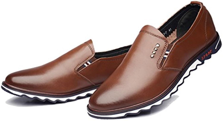 GAOLIXIA Männer Schuhe Wies Business Casual Schuhe Kleid Schuhe Britische Mode Freizeitschuhe Vier Jahreszeiten