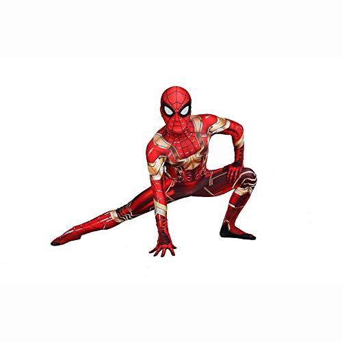 SEJNGF Avengers Siamese Tights Halloween Charakter Cosplay Kostüm Camouflage Ball (Kopfbedeckung Kann Getrennt Werden),Child-S