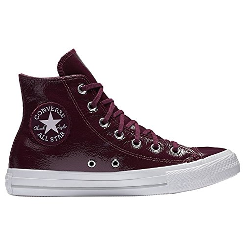 Converse Chucks High CT As Hi 557939C Bordeaux Dark Sangria, Schuhgröße:37.5 (High Leder Converse Heels)