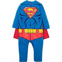 Warner Bros. Justice League The Flash Baby Boys Costume Coverall Footies & Cape