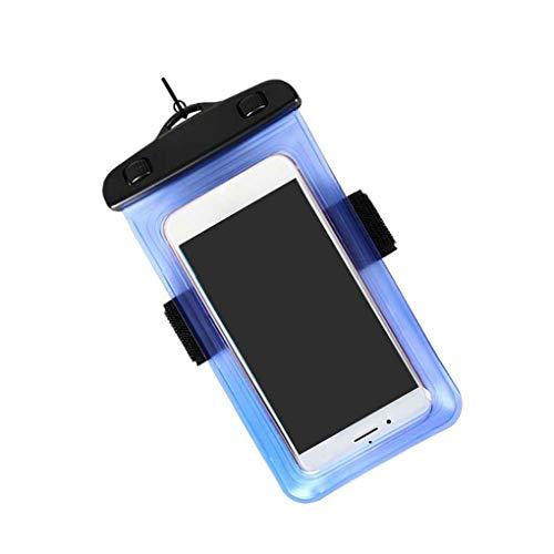 Cdrox Wasserdichte Handytasche Transparent Dry Bag Schwimmen Hängen Fall Fitness Surfen Arm Container Starke Sealing