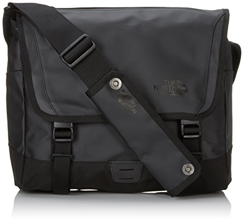 The North Face Unisex Umhängetasche Base Camp Messenger, Tnf Black, 38,5 x 32 x 13 cm, 20 Liter, T0A7KUJK3