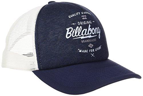 G.S.M. Europe–Billabong–Cappellino da uomo, stile motociclista, Uomo, Kappe CHOPPER TRUCKER, blu navy, Taglia unica