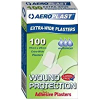 Transparente Pflaster - Extra Wide - 75mm x 25mm (100 Stück) Latex-frei & Wasserdicht preisvergleich bei billige-tabletten.eu