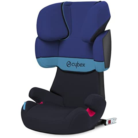 Cybex Solution X-fix - Silla de coche Grupo 2/3 (15-36 kg, 3 -12 años), color azul