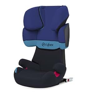 Cybex Silver Solution X-Fix 514116005 Seggiolino Auto per Bambini, Gruppo 2/3, Blue Moon/Navy Blue