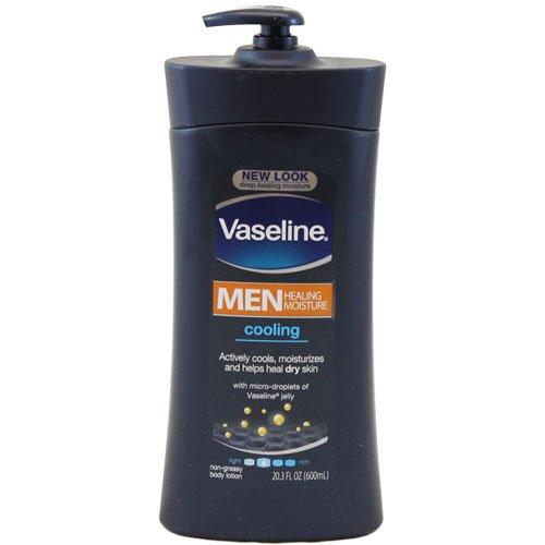 Vaseline Men's Cooling Hydration Body Lotion - Herren Körperlotion, kühlend, feuchtigkeitsspendend - 725ml aus USA