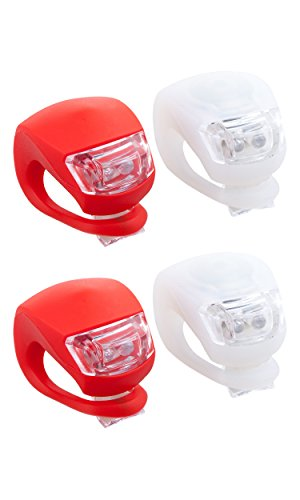 trixes-2-paar-dual-led-silikon-fahrrad-leuchten-sets-vorn-weiss-hinten-rot-fur-mehr-sicherheit-an-ih